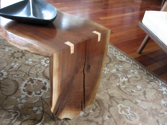 Folded slab table woodworking talk woodworkers forum for 3 inch thick wood slab