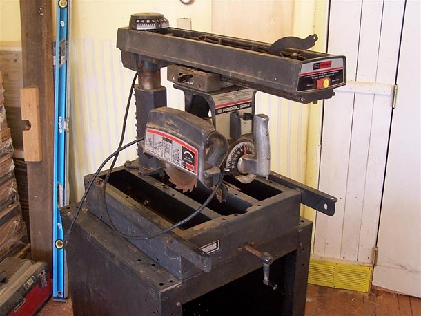 How Old Is My Sears Craftsman 10 Quot Radial Saw Woodworking