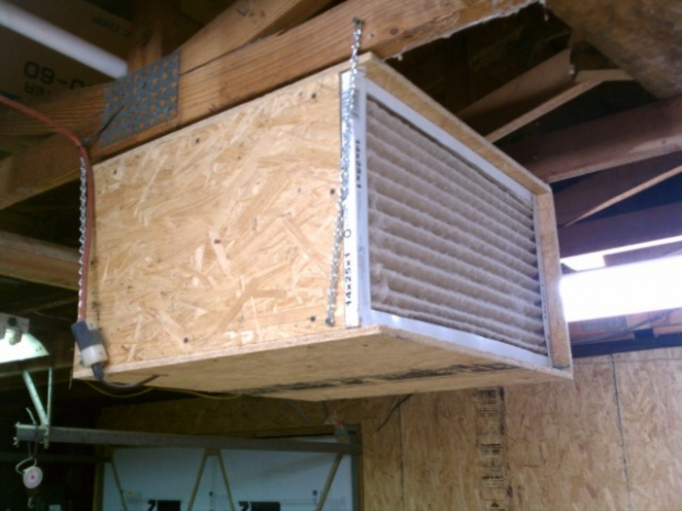 Ideas For My Old Furnace Blower Motor Air Filter Or