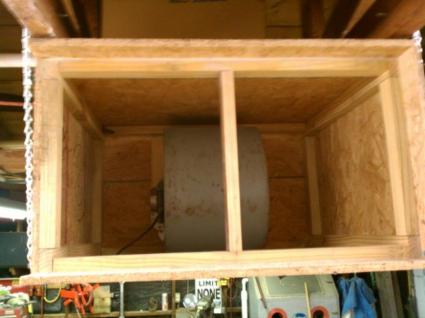 Ideas For My Old Furnace Blower Motor   Air Filter Or Other  - Woodworking Talk