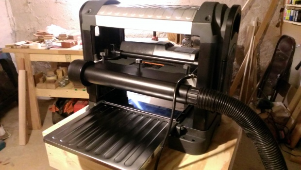 Steel City Tool Works 40200h 13 Planer With Helical Cutterhead