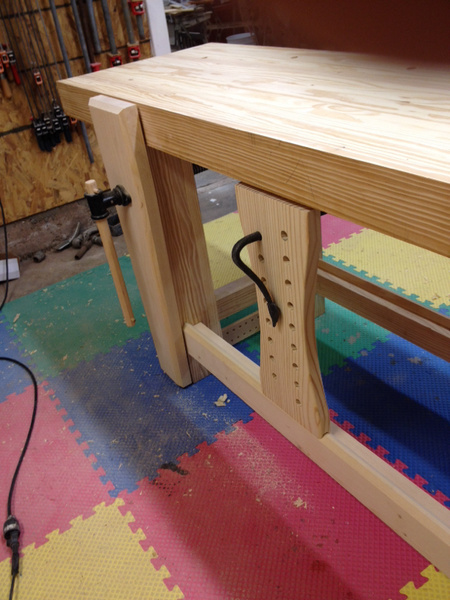 Workbench top thickness - Woodworking Talk - Woodworkers Forum