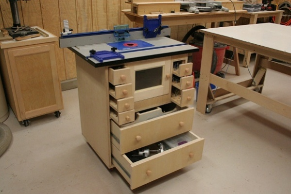 Router table and cabinet - Woodworking Talk - Woodworkers ...