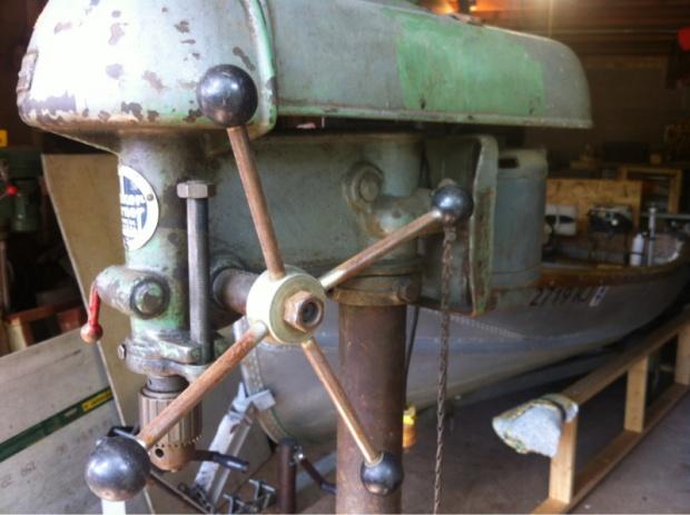 Walker turner drill press. - Woodworking Talk - Woodworkers Forum on