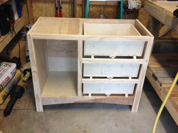 how to build a changing table
