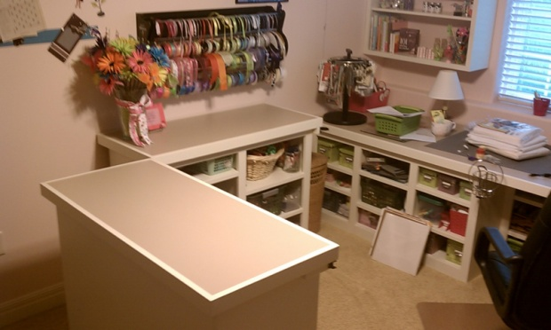 craft room    sewing room furniture