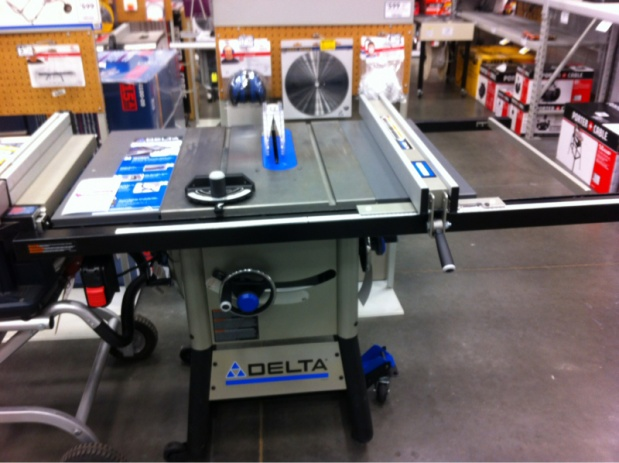 Delta 10 Inch Contractor Saw : New delta 36-725 13 amp contractor table saw - Woodworking Talk ...