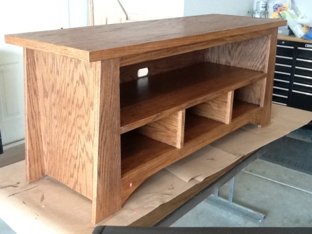 Tv Stand Woodworking Designs : Christmas vacation project tv stand woodworking talk