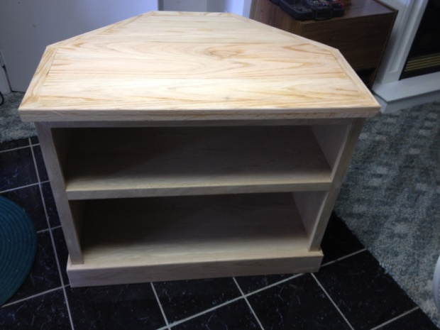 Looking Corner Tv Stand Plans Woodworking Talk Woodworkers Forum
