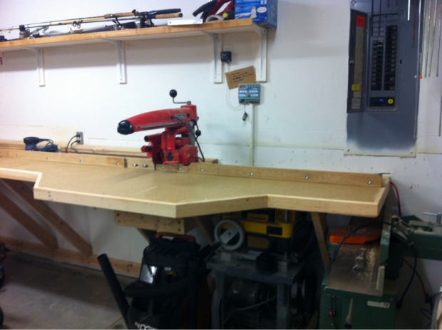 Radial Arm Saw Bench Build Woodworking Talk