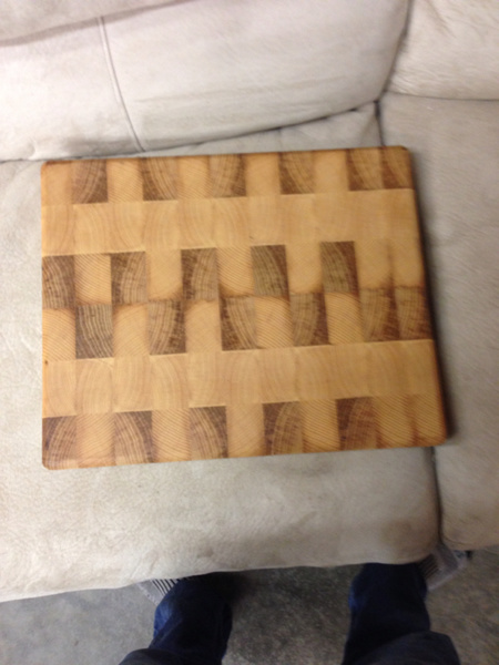 Look what I did! End grain cutting board through planer.-image-2586180872.jpg
