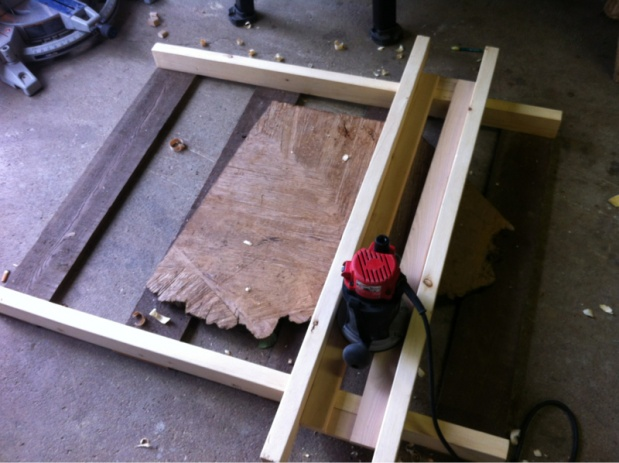 Router Sled - Woodworking Talk - Woodworkers Forum