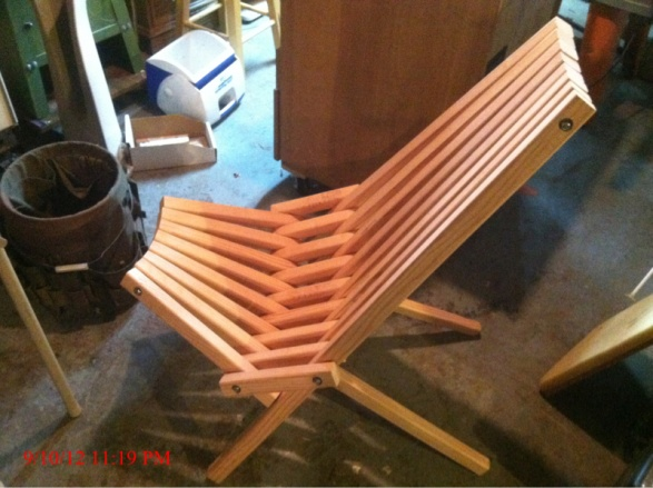 Building The Folding Stick Chair Woodworking Talk