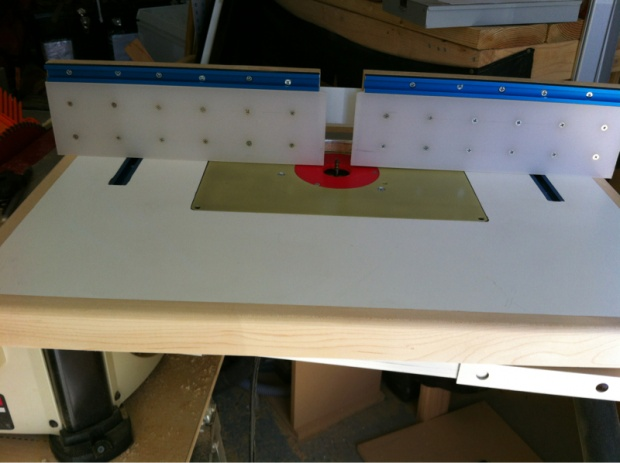 router table build