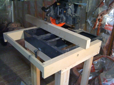 Radial Arm Saw Tabletop - Woodworking Talk - Woodworkers Forum