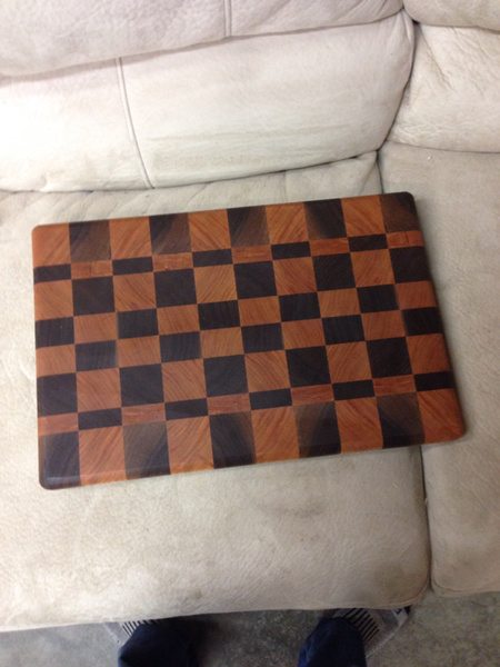 Look what I did! End grain cutting board through planer.-image-327156965.jpg