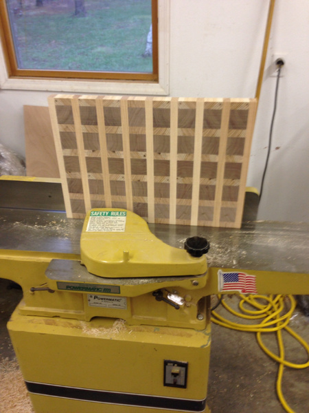 Look what I did! End grain cutting board through planer.-image-3295371300.jpg