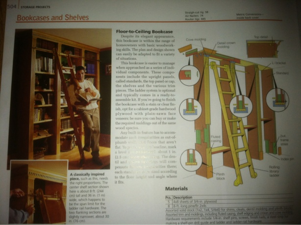 Click image for larger version Name: image-3430198456.jpg Views: 4752 Size - Floor To Ceiling Bookcase - Questions - Woodworking Talk