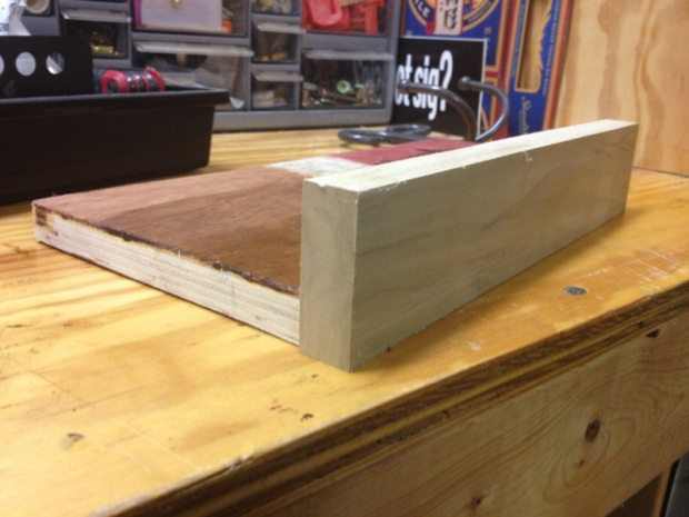 Gluing up plywood for thickness woodworking talk for Plywood sheathing thickness