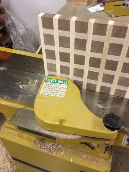 Look what I did! End grain cutting board through planer.-image-3963084033.jpg