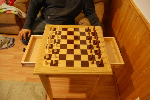 Chess End Table Image 4162340574