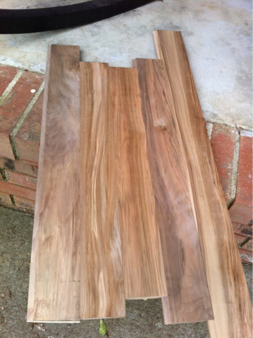 Check Out My Sweet Gum Flooring Woodworking Talk Woodworkers