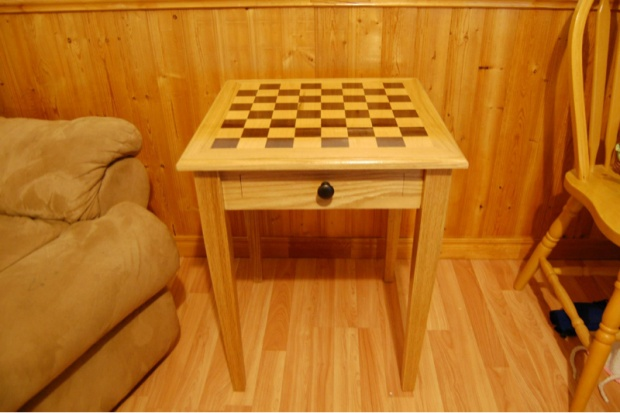 Chess End Table Image 547873438