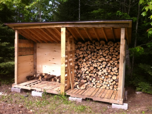 Firewood storage shed - Woodworking Talk - Woodworkers Forum