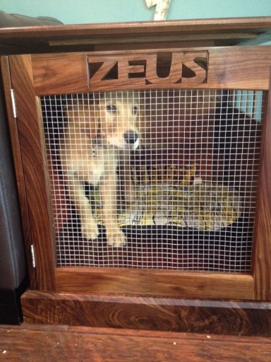Custom dog crate Woodworking Talk Woodworkers Forum