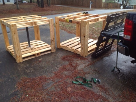 Help With Pallet Scrap Workbench Woodworking Talk