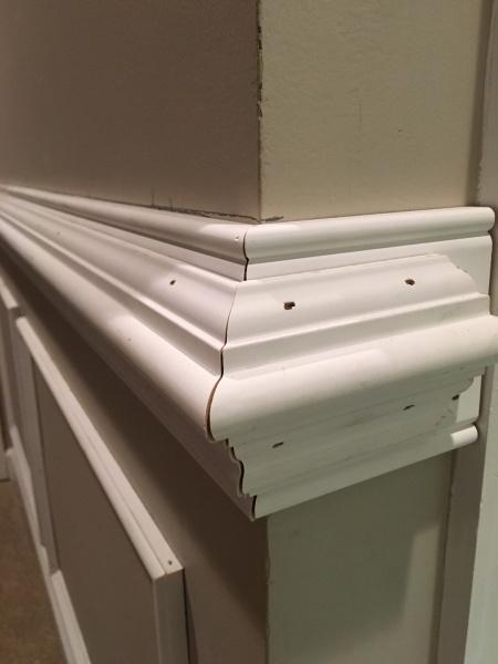 Caulk Vs Spackle Vs Wood Filler For Painted Molding