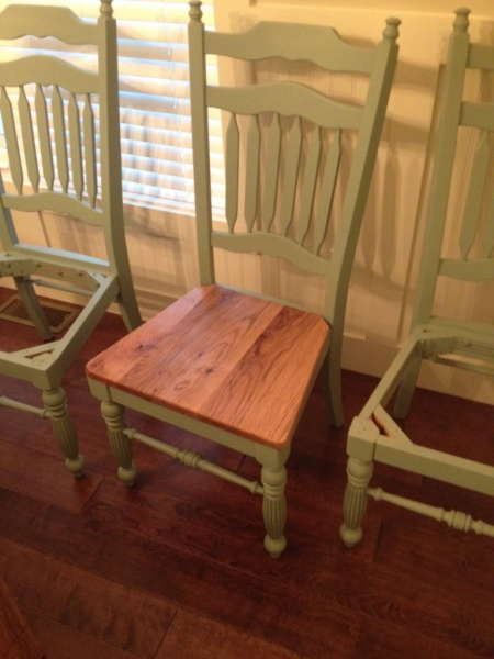 Dining room table, chairs, and bench - Woodworking Talk ...