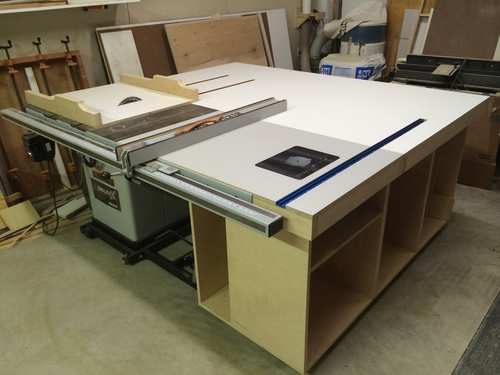 Thoughts on Mobile Base for Delta Cabinet Saw - Woodworking Talk ...