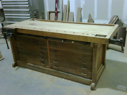 Astounding Workbench Top Thickness Woodworking Talk Woodworkers Forum Pabps2019 Chair Design Images Pabps2019Com