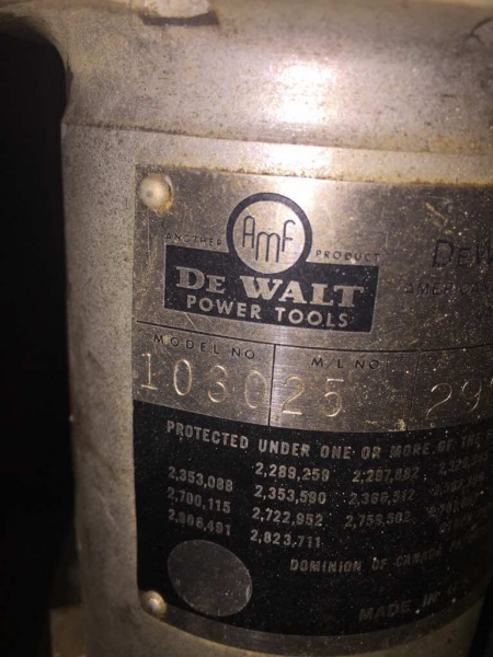 Found a dewalt 1030 round arm!! RAS-imageuploadedbywood-working-talk1478615861.834586.jpg