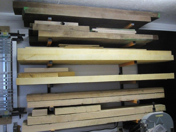 Happiness is a full rack!!! - Woodworking Talk - Woodworkers Forum