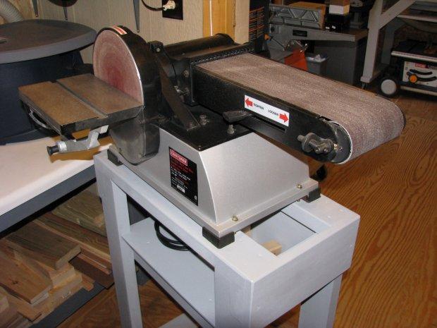 Craftsman Model 351 217570 Bench Top Sander Woodworking