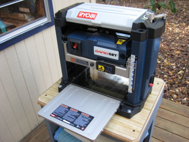 Ryobi Ap1300 Portable Thickness Planer Woodworking Talk Woodworkers Forum