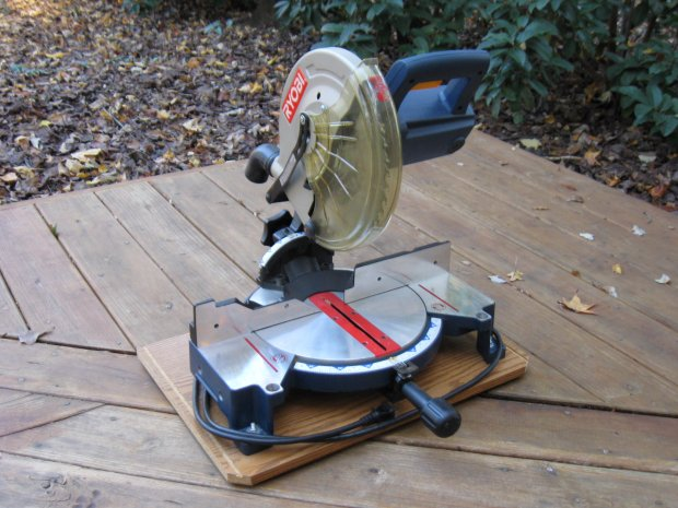 Ryobi 10 inch compound miter saw ts1340 woodworking talk click image for larger version name img0200g views 15476 size 696 greentooth Images