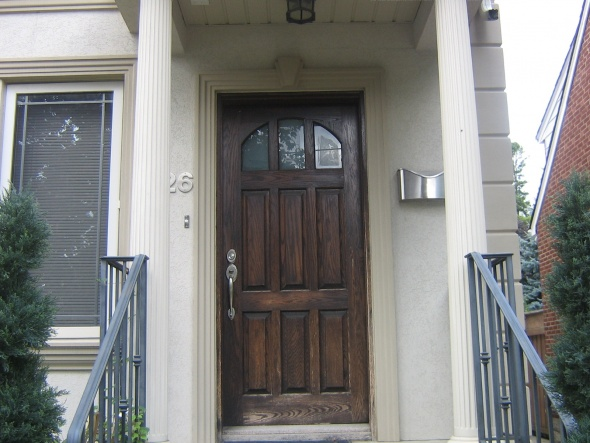 Superieur [ATTACH]16601 How Do I Remove Stain From Exterior Front Door Img_0636