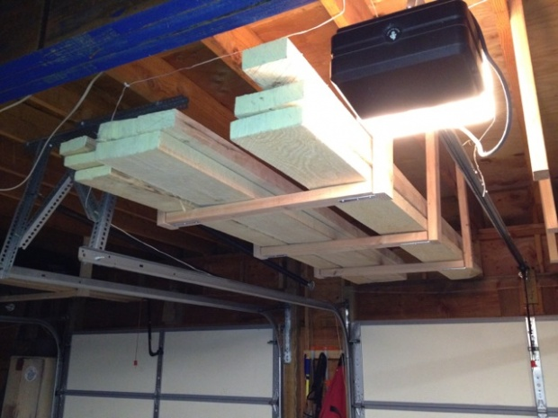 Lumber Rack For Small Shop Woodworking Talk Woodworkers Forum