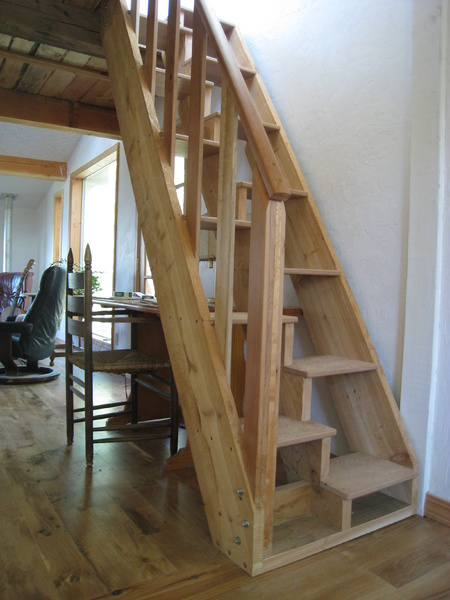 Captain S Staircase Woodworking Talk Woodworkers Forum