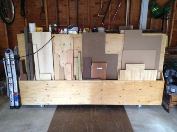 Pact Sheet Goods Storage Rack