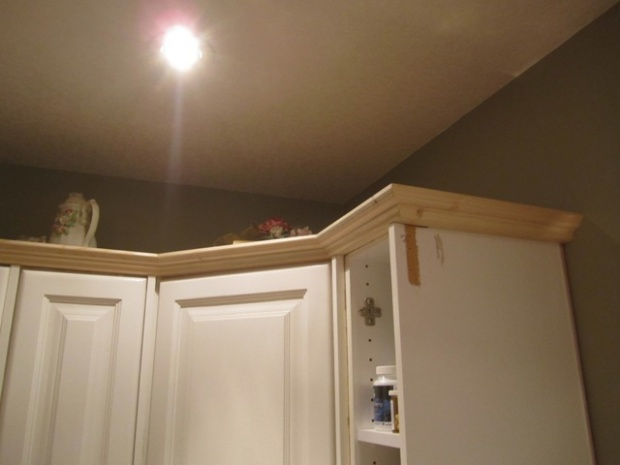 Kitchen Cabinets Crown Molding Woodworking Talk Woodworkers Forum