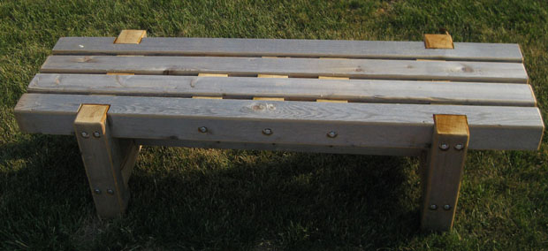 fire pit bench design