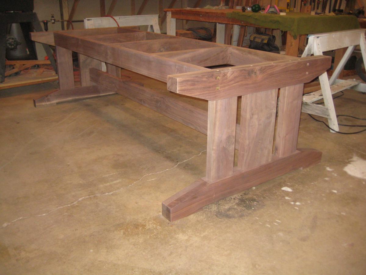 Farmhouse trestle table in process-img_1342-2-.jpg