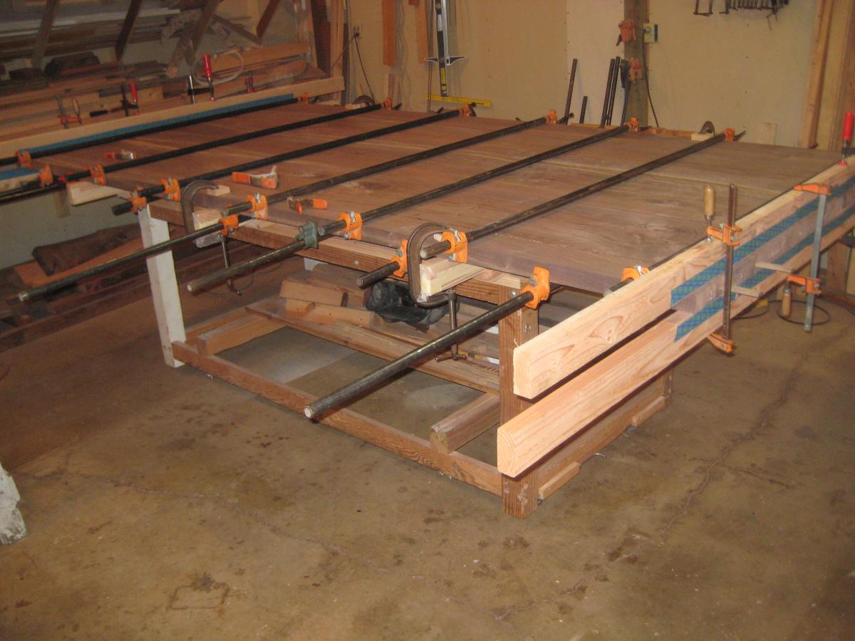 Farmhouse trestle table in process-img_1355-1-.jpg