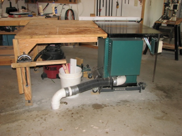 Dust collection pipes in floor - Woodworking Talk ...