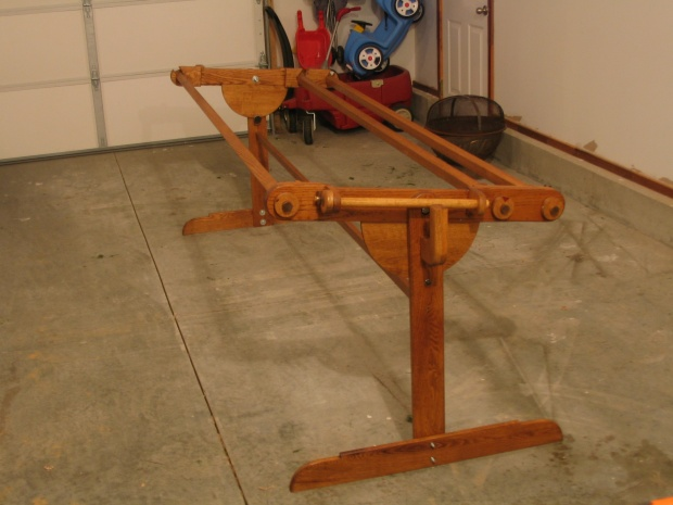 Quilting Frame - Woodworking Talk - Woodworkers Forum : homemade quilting frame - Adamdwight.com
