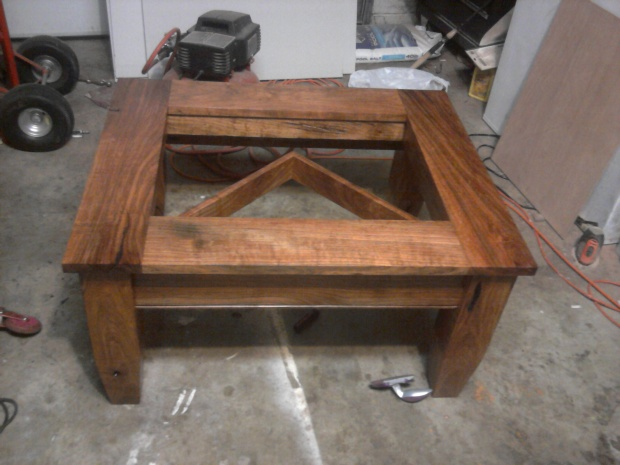 Click image for larger version Name IMG_20110405_235939.jpg Views 6197 Size 89.5 & Texas Mesquite Shadow Box Table - Woodworking Talk - Woodworkers Forum Aboutintivar.Com